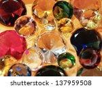 glass gems | Shutterstock . vector #137959508