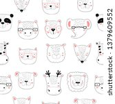 vector seamless pattern with...   Shutterstock .eps vector #1379609552