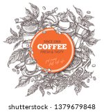 round banner template with... | Shutterstock .eps vector #1379679848