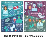 healthcare and medicine ... | Shutterstock .eps vector #1379681138