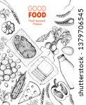 good food store design concept. ...   Shutterstock .eps vector #1379706545