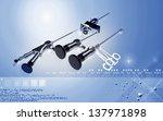 digital illustration of...   Shutterstock . vector #137971898
