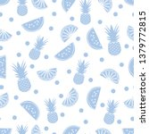 seamless pattern with... | Shutterstock .eps vector #1379772815
