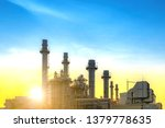 industrial power plant gas... | Shutterstock . vector #1379778635