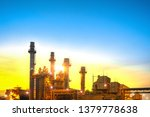 industrial power plant gas... | Shutterstock . vector #1379778638