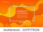 dynamic style color wave banner ... | Shutterstock .eps vector #1379779235