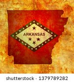 territory of Arkansas state isolated from other states of USA