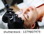 portrait of female patient... | Shutterstock . vector #1379807975