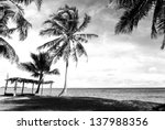 Black And White Image Of...