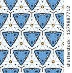 triangle geometric shape... | Shutterstock .eps vector #1379887712