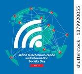 world telecommunication and... | Shutterstock .eps vector #1379920055