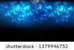 abstract black and blue bokeh...   Shutterstock .eps vector #1379946752