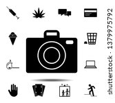 camera icon. simple glyph  flat ...