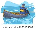 vector illustration of a man... | Shutterstock .eps vector #1379995802
