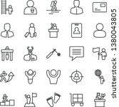 thin line vector icon set  ... | Shutterstock .eps vector #1380043805