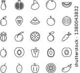 thin line vector icon set  ...   Shutterstock .eps vector #1380043832