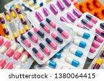 pharmaceuticals pills medicine  ... | Shutterstock . vector #1380064415