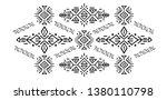 ethnic style vector...   Shutterstock .eps vector #1380110798
