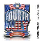 Fourth July Graphic With Bald...