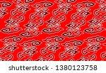 west java indonesia batik...   Shutterstock .eps vector #1380123758