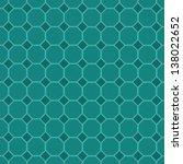 seamless octagon pattern...   Shutterstock .eps vector #138022652