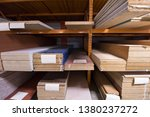 production department of a big... | Shutterstock . vector #1380237272