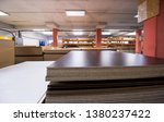 production department of a big... | Shutterstock . vector #1380237422