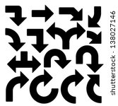 15 vector arrows | Shutterstock vector #138027146