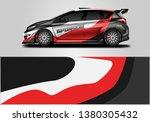 car wrap designs vector .... | Shutterstock .eps vector #1380305432