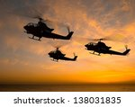 Military Helicopter On A...