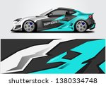 livery decal car vector  ... | Shutterstock .eps vector #1380334748