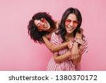 young  spectacular models... | Shutterstock . vector #1380370172