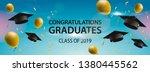 congratulations graduates 2019  ... | Shutterstock .eps vector #1380445562