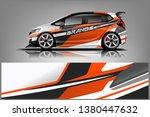 car wrap design vector  truck... | Shutterstock .eps vector #1380447632