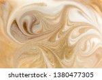 beige marbling pattern. golden... | Shutterstock . vector #1380477305