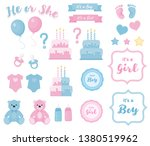 Baby Shower Clipart. Blue And...