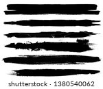 grunge paint roller . vector... | Shutterstock .eps vector #1380540062