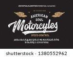 vintage brush script modern... | Shutterstock .eps vector #1380552962