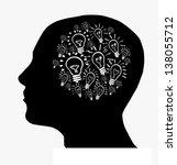 bulbs in mind | Shutterstock . vector #138055712