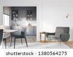 modern classic white gray... | Shutterstock . vector #1380564275