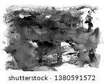 abstract ink design. modern... | Shutterstock . vector #1380591572