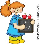 counting in fun | Shutterstock .eps vector #138062648