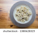 turkish traditional manti food. ... | Shutterstock . vector #1380628325