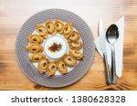 turkish traditional manti food. ... | Shutterstock . vector #1380628328