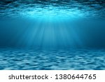 Ocean Underwater Scene...