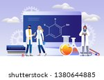 research laboratory vector...