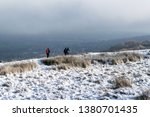 Hikers In The Snow  Ilkley Moo...