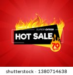hot sale price offer deal... | Shutterstock .eps vector #1380714638