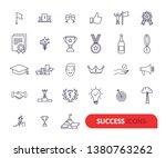 success  awards  achievement... | Shutterstock .eps vector #1380763262