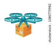 Quadcopter Icon. Remote Air...